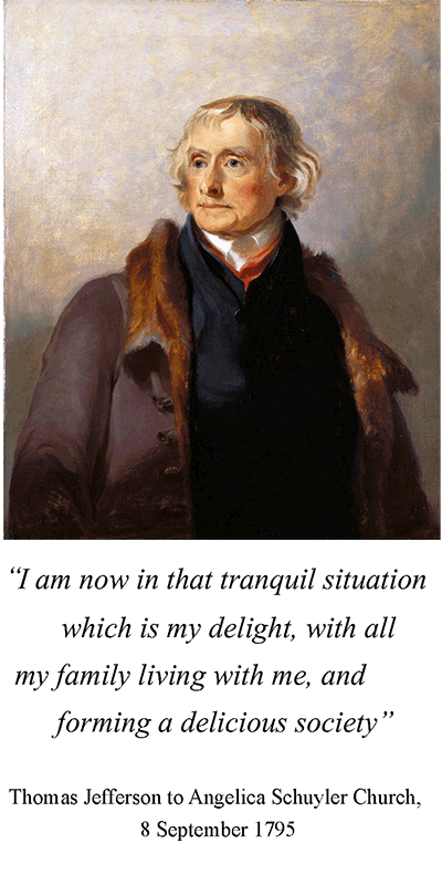 Portrait of Thomas Jefferson by Thomas Sully